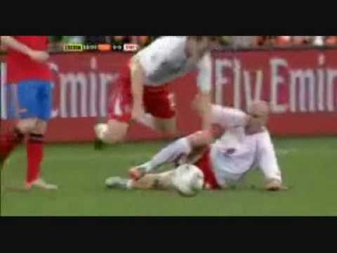 FIFA World Cup Senderos Tackle