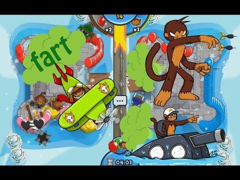 Operation Fart Storm, Fart Monkey, Airburst Farts,  - Bloons TD Battles