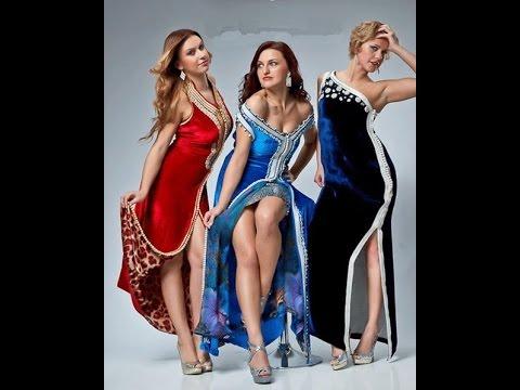 Caftan et takchita : Défilé de mode caftan - YouTube
