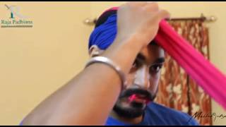 How to tie turban pagg 11 turns Amritsari style