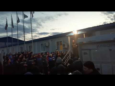 Бунт рабочих на месторождении Газпрома в Якутии  18+