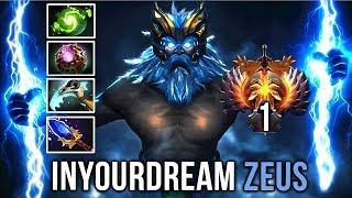 inYourdreaM TOP-1 Zeus Unreal Comeback - Crazy 100k Damage - Dota 2