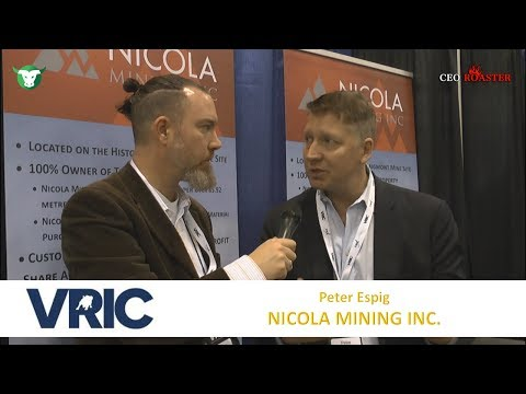 Nicola Mining Inc.: #VRIC2018 Video-Interview Peter Espig (TSX-V: $NIM)
