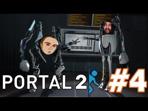 Portal 2: COOPERATIVO | Somos Inteligentontasos ♥ (Con Jugandoconnatalia) #4