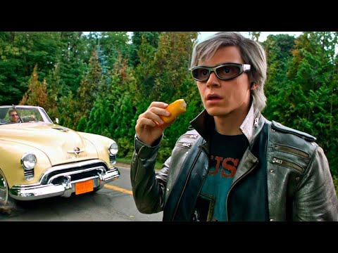 Quicksilver Saves Everyone - Sweet Dreams - X-Men: Apocalypse (2016) Movie Clip HD