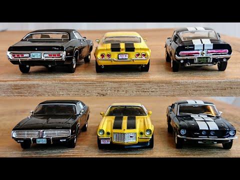 Coches Americanos 🚗🏁 American Muscle cars de Altaya 😍