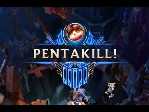 Teemo Pentakill - The Little Satan Strikes Again! League of Legends Season 6