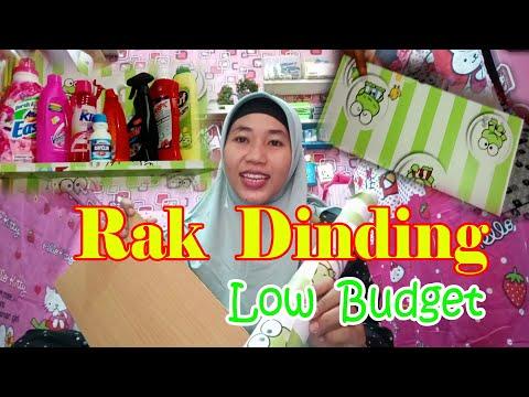 diy-room-decor-||-rak-dinding-bekas-lemari||-low-budget