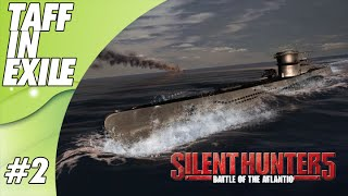 Silent Hunter 5 - Battle of the Atlantic | E2| The Adventure of U-31 Continues