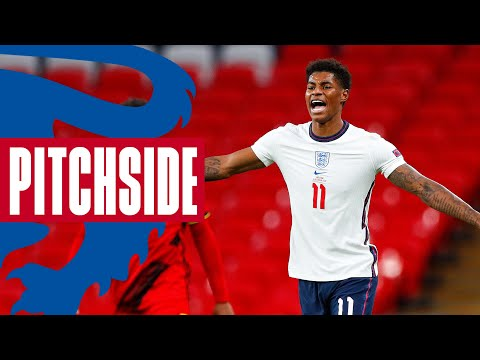 Listen To How The England Players Fought Back To Topple Belgium 🔊 | Pitchside | Inside Access
