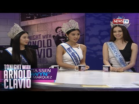 Tonight with Arnold Clavio: Interview with the Beauty Queens