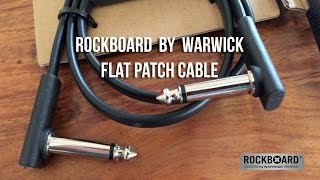 Warwick/Rockboard: Flat Patch Cables