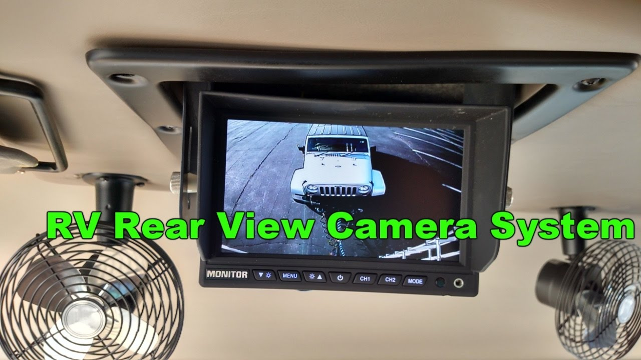 medium resolution of how to install an rv rear view camera system