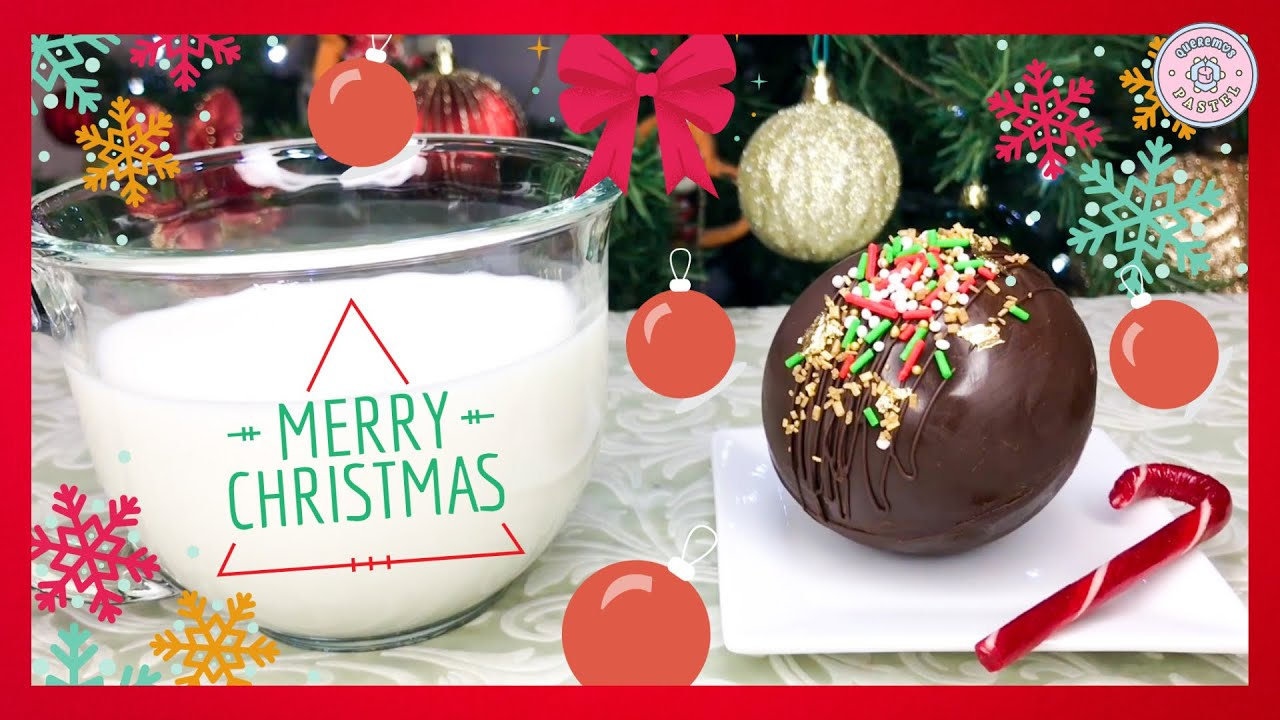 Bomba de Chocolate Caliente Clásica - Queremos Pastel