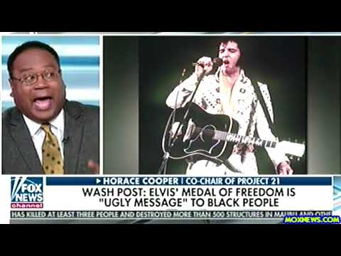 WAPO Accuses President Trump Of Racism For Awarding Elvis Presley The Medal Of Freedom!