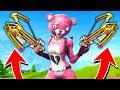 The *NEW* DOUBLE CROSSBOW Strategy! (Fortnite Battle Royale)