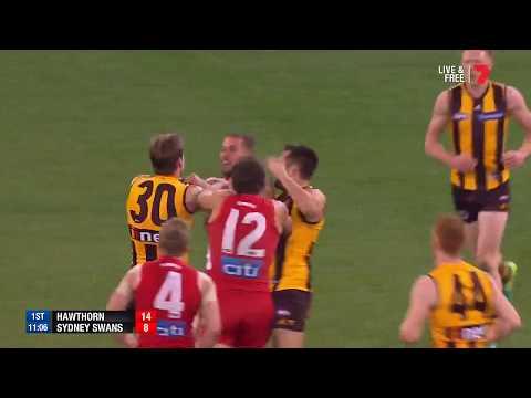 Round 19 AFL - Hawthorn v Sydney Swans Highlights