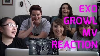 EXO Marathon Part 4: Growl MV Reaction | The Kpop Konverters