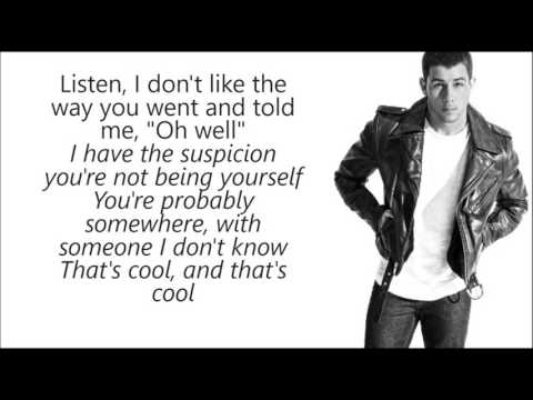 Nick Jonas - Remember i Told You LYRICS Ft. Anne Marie & Mike Posner