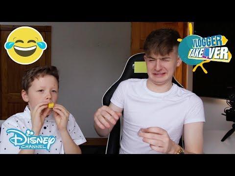 Vlogger Takeover | Quiz pt 2 ft Adam and Callum | Disney Channel UK