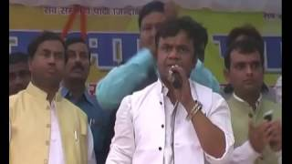 actor rajpal yadav's amazing political speech