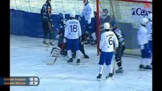 Байкал-Энергия - Динамо-Москва - 5:4. Голы(Чемпионат России по хоккею с мячом. Суперлига