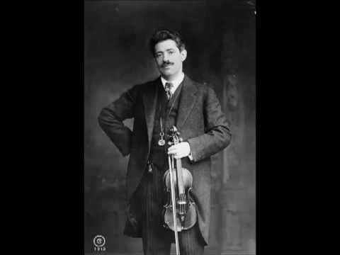 Fritz Kreisler - Beethoven Violin Sonata #1 (entire)