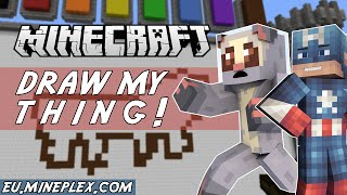 Minecraft Minigame - DRAW MY THING! (with NettyPlays)