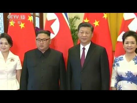 Kim Jung-Un de visita a Pequim