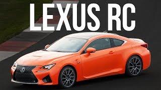 Lexus RC | Тест-драйв | Эффектный эгоист на наших дорогах