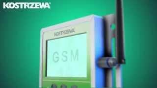 видео Kostrzewa: Модуль связи Vide GSM управления отоплением