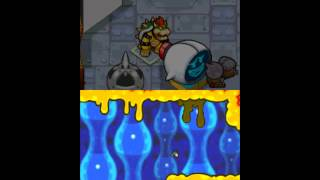 Mario & Luigi: Bowser's Inside Story Walkthrough Part 16: Energy Hold, Boss: Wisdurm