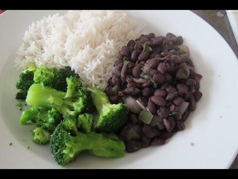Yummy black beans recipe