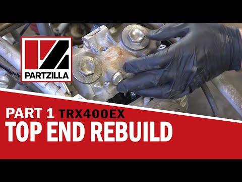 Honda 400EX Top End Rebuild Part 1: Disassemble | Partzilla.com