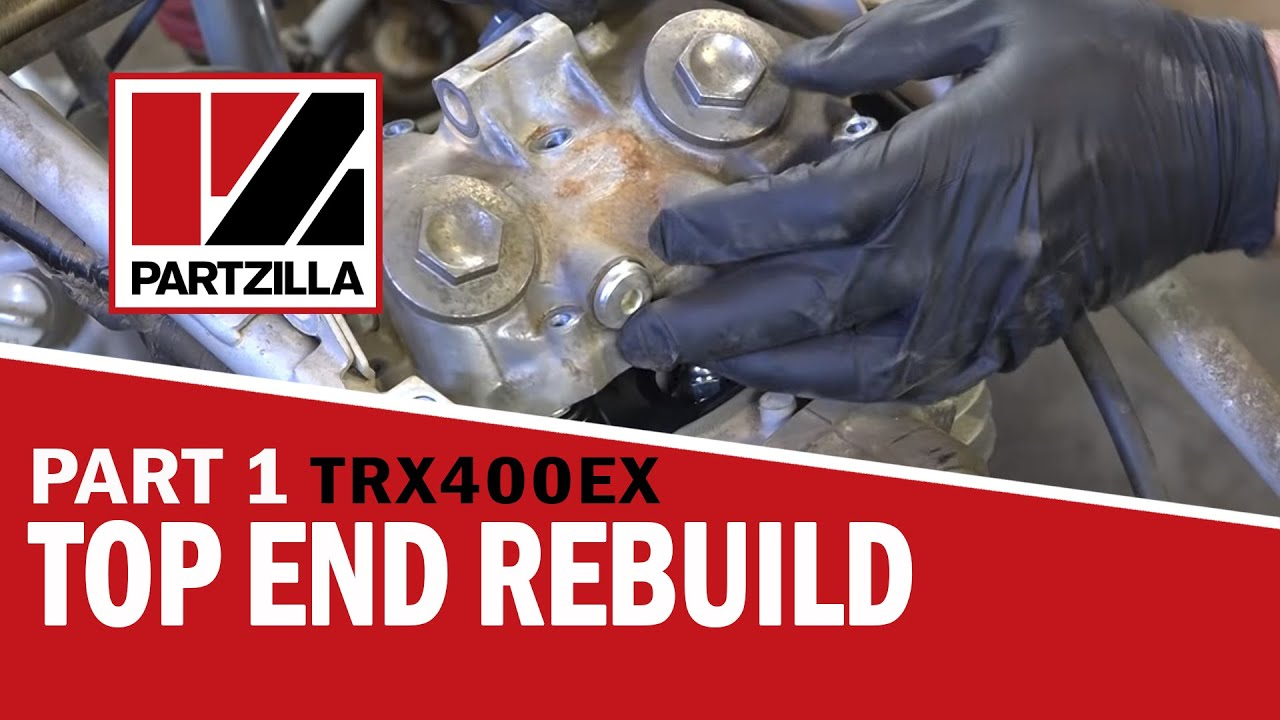 Honda 300ex Wiring Diagram Honda 400ex Top End Rebuild Part 1 Disassemble