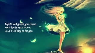 Gambar cover Fix You (Coldplay) - Piano Cover by Alexandra Porat (Lyrics)