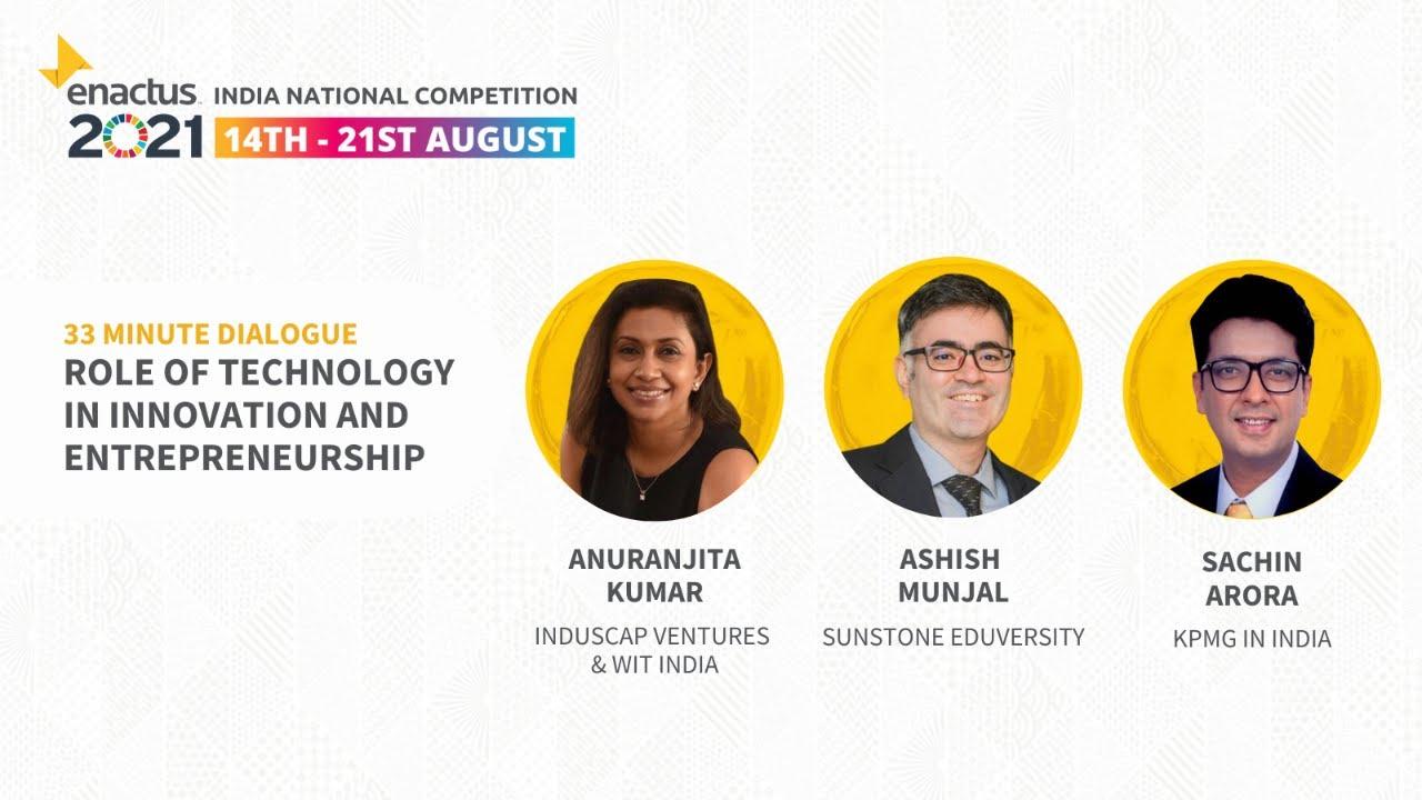 Enactus India 2021   Semi-Final Round Awards Ceremony 2021
