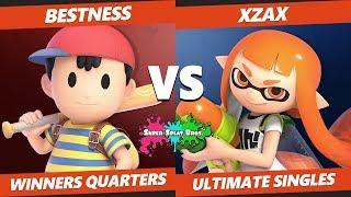 Smash Ultimate Tournament - Bestness (Ness) Vs. Xzax (Inkling) Splat Bros. SSBU WQ