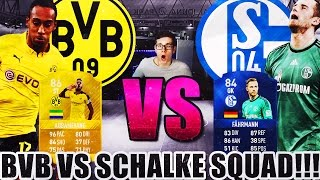 FIFA 17: OMFG BORUSSIA DORTMUND VS SCHALKE 04! BEAST SQUAD (DEUTSCH) - ULTIMATE TEAM - DERBY!