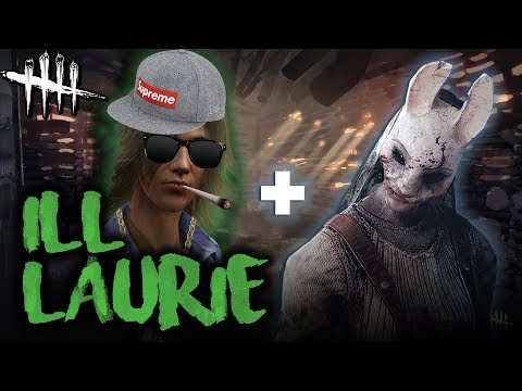 ILL LAURIE - Dead by Daylight with HybridPanda [Huntress + Laurie]