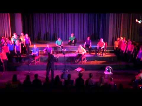 HAUS AM SEE, Konzert in der Aula,  vocal resources Karlsruhe (2012)