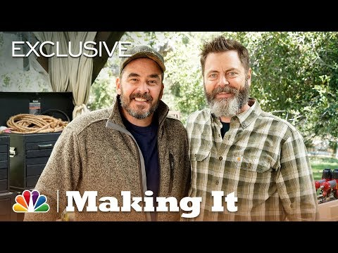 """Making It - """"Will It Saw?"""" with Nick Offerman and Jimmy DiResta (Digital Exclusive)"""