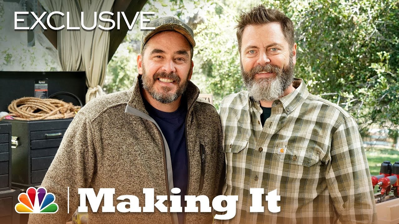 making it will it saw with nick offerman and jimmy diresta digital exclusive youtube. Black Bedroom Furniture Sets. Home Design Ideas