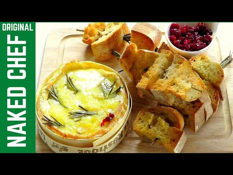 Camembert Cheese How to bake tasty simple recipe