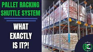 Pallet Racking Shuttle System | 🚚 Pallet Shuttle UK Services 🚚 | Pallet Racking Suppliers