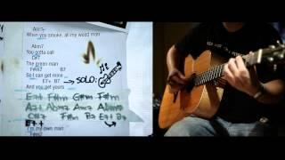 Amy Winehouse Addicted Guitar Chord Tutorial: an Acoustic Instrumental Interpretation / Tribute