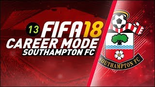 FIFA 18 Southampton Career Mode Ep13 - SPURS AND UNITED!!