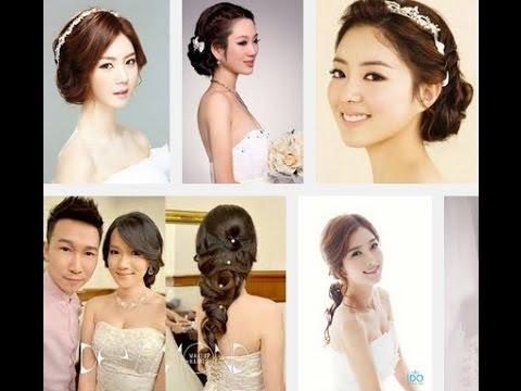 korean wedding hair style 2014