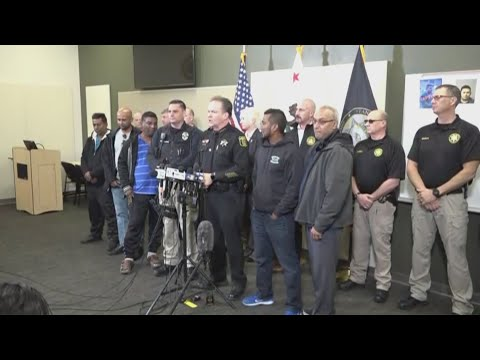 RAW: Stanislaus County Sheriff's Department announces arrest of Cpl. Singh's killer