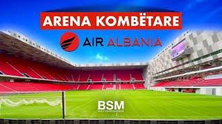 """Gambar cover Stadiumi i ri Arena Kombëtare """"Air Albania"""" më në fund gati për ndeshjen Shqipëri - Francë [4K UHD]"""